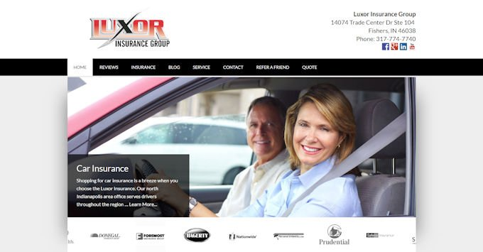 The new luxorinsgrp.com